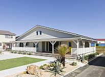 【施工事例 H様邸】アメリカンスタイルでまとめられたハイセンスな平屋のお家