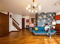ミッドセンチュリー家具が馴染むゆとりある住空間、暮らしを楽しむアメリカンハウス ~後編~