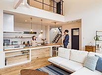 ゆとりある開放的な住空間、爽やかな風と光を取り込む西海岸テイストの家 ~後編~